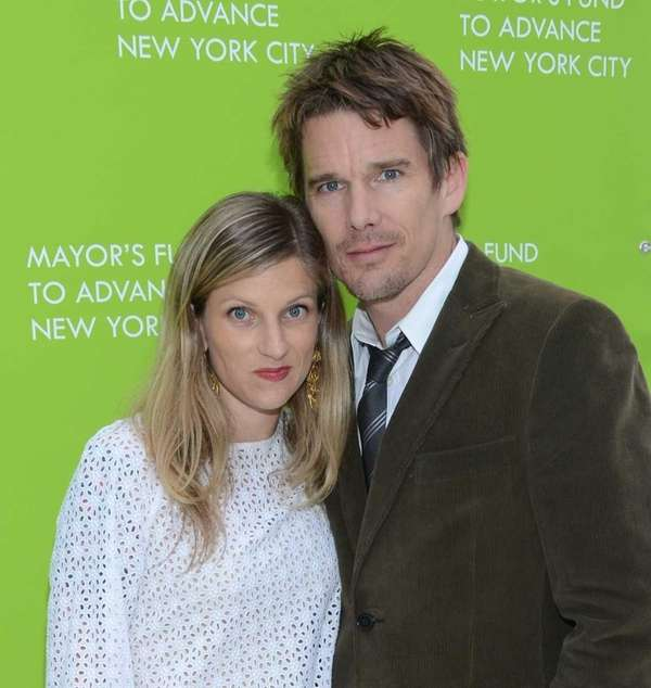 Ryan Hawke and Ethan Hawke attend the Mayor's