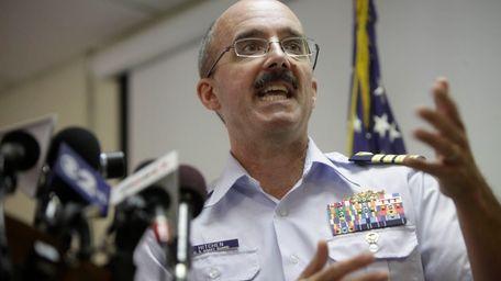Deputy Commander of Coast Guard Sector New York