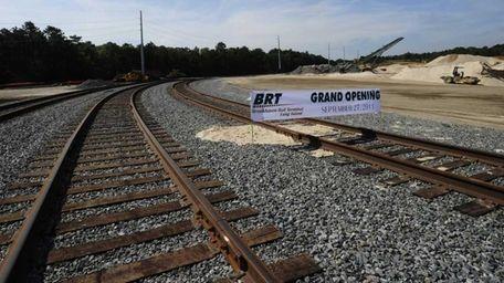 The Brookhaven Rail Terminal or BRT opens rail