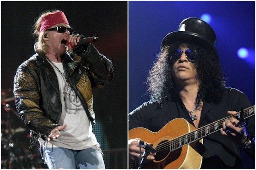 Despite being members of Guns N' Roses, it