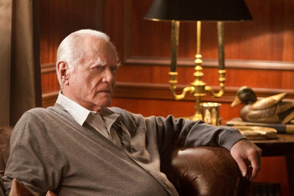 Larry Hagman reprised his role as J.R. Ewing,