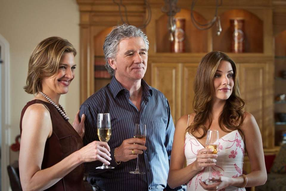 Ann and Bobby Ewing (Brenda Strong and Patrick
