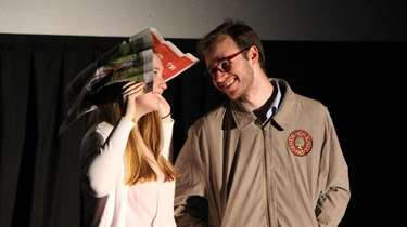 Jackie Demayo as Janet Weiss and Sean Kelsey