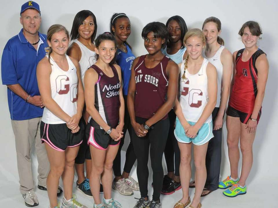 The 2012 Newsday All-Long Island girls track &