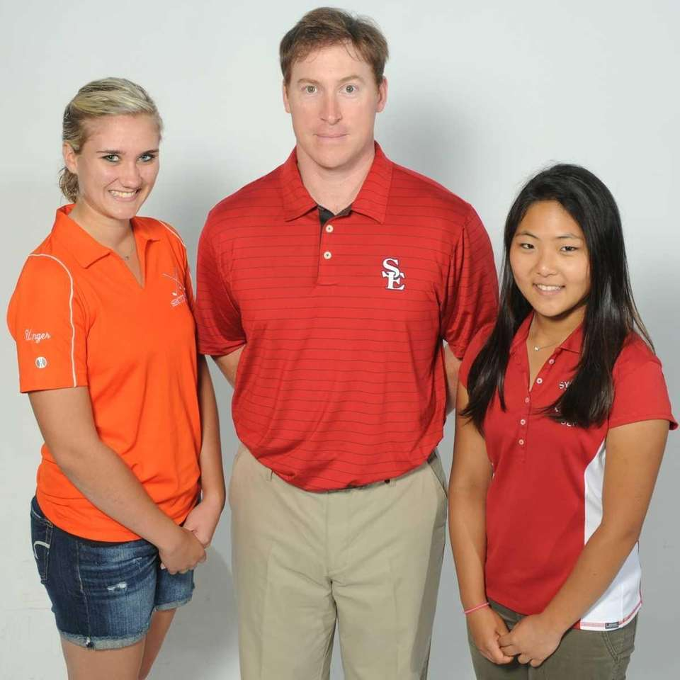 The 2012 Newsday All-Long Island girls golf team.