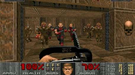 Doom offers players a chance to re-create the