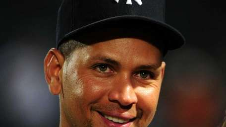 Alex Rodriguez of the New York Yankees is