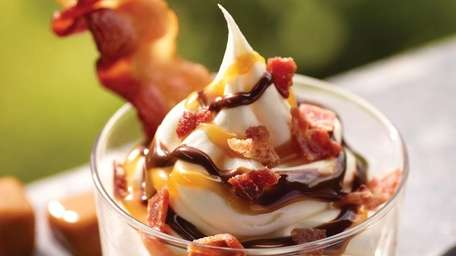 Sweet and salty: Burger King's new BACON SUNDAE