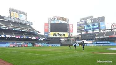New York City FC trained on Tuesday at