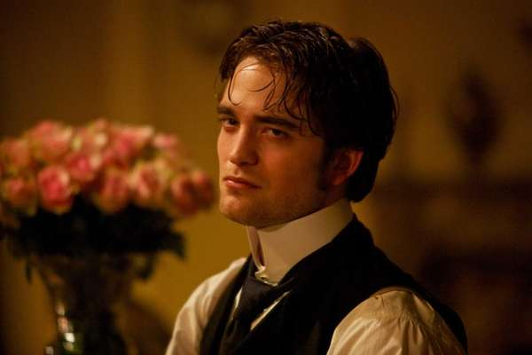 "Robert Pattinson in ""Bel Ami."""