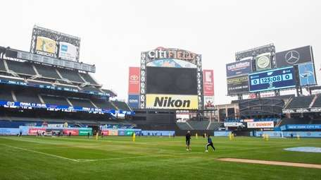 Citi Field is set up to host NYCFC