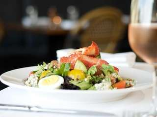 The Bell & Anchor's lobster cobb salad, prepared