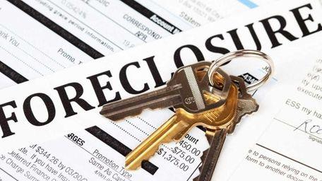 Foreclosure filings were up 50 percent in Nassau