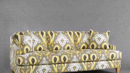 George Sofa (customizable with fabric and leg finish),