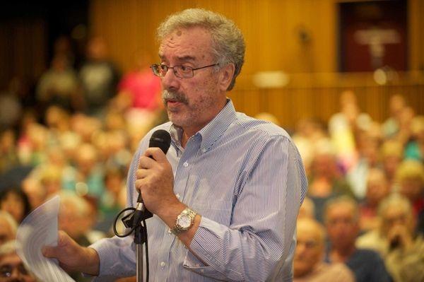 John Caruso, commissioner Massapequa Water District makes a