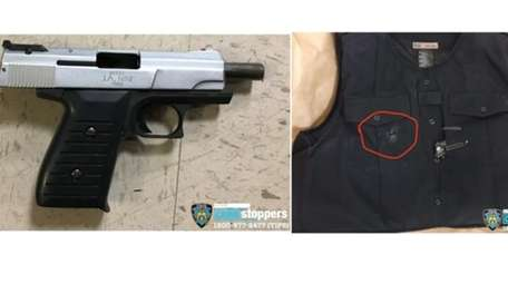 The 9mm semi-automatic handgun that the NYPD commissioner
