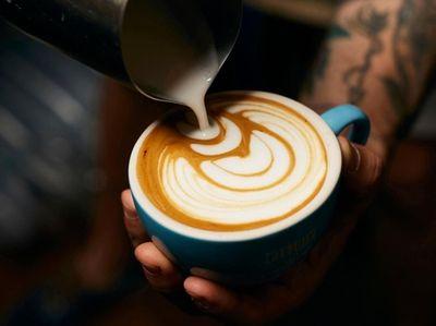 A cappucino, Flux Coffee, Farmingdale, Aug. 11, 2019.