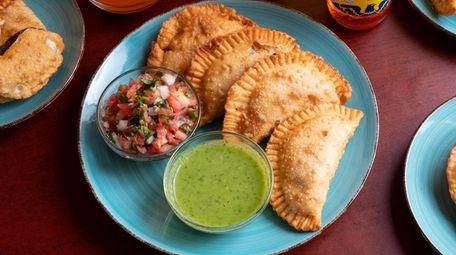 Empanadas at Vicky's Casa del Sabor in Lindenhurst.