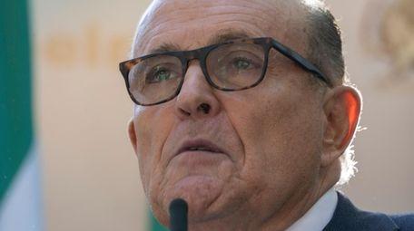 Rudy Giuliani, President Donald Trump's personal attorney and