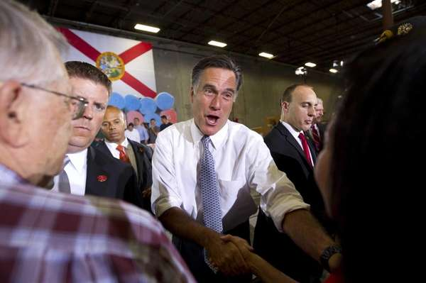 Mitt Romney, the presumed Republican nominee for president,