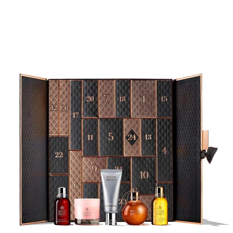 This luxury beauty Advent calendar comes with 24