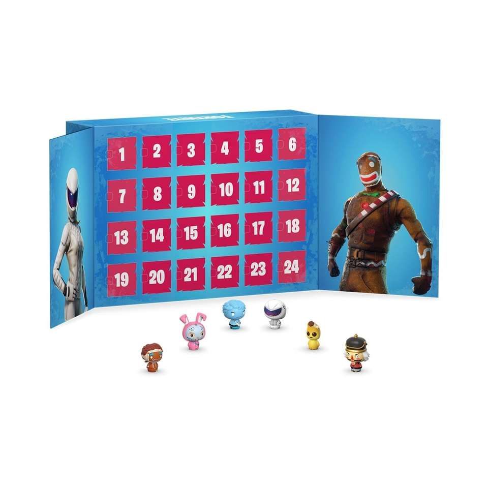Fortnite micro-figures are hidden within this 24-piece Advent