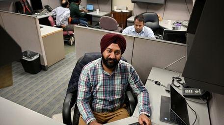 Navjot Singh, an IT analyst with SVAM International
