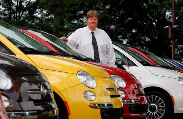 James Tharp, sales manger at Fiat of South