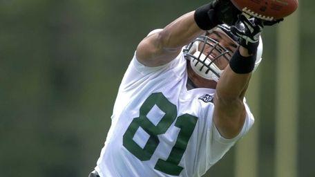 New York Jets tight end Dustin Keller #81