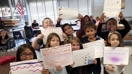 In West Babylon, students at Tooker Avenue Elementary