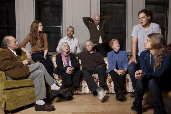 The cast of Soho Rep's