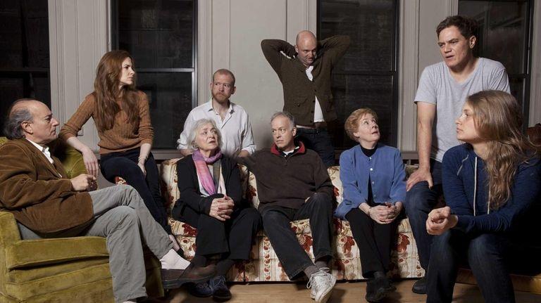 The cast of Soho Rep's