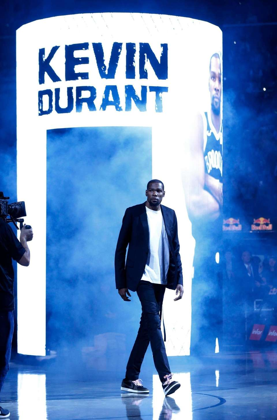 Kevin Durant #7 of the Brooklyn Nets is