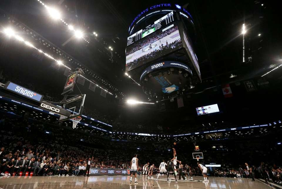 A view of the opening tip of a