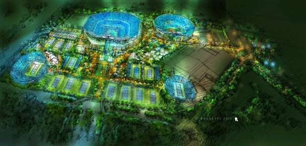 Rendering of the renovations planned for the Billie