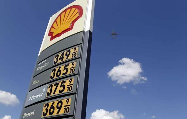 Lower gasoline prices in May helped offset higher