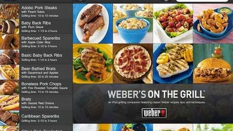 A screen shot of the Weber's On the