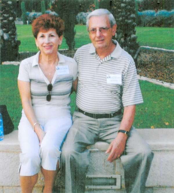 Carol and Frank Benevento as seen in a