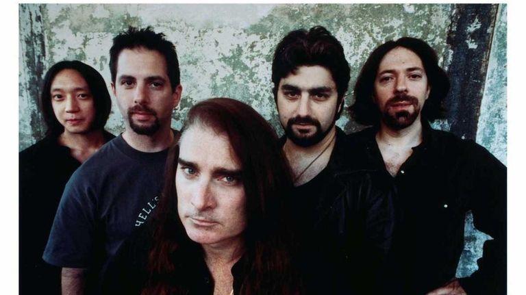 Left to right, John Myung, John Petrucci, James