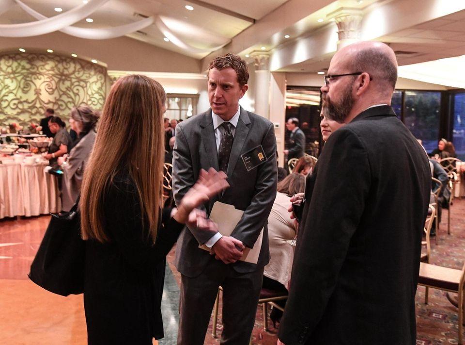 Dan Kessler (center) President and CEO of Energage