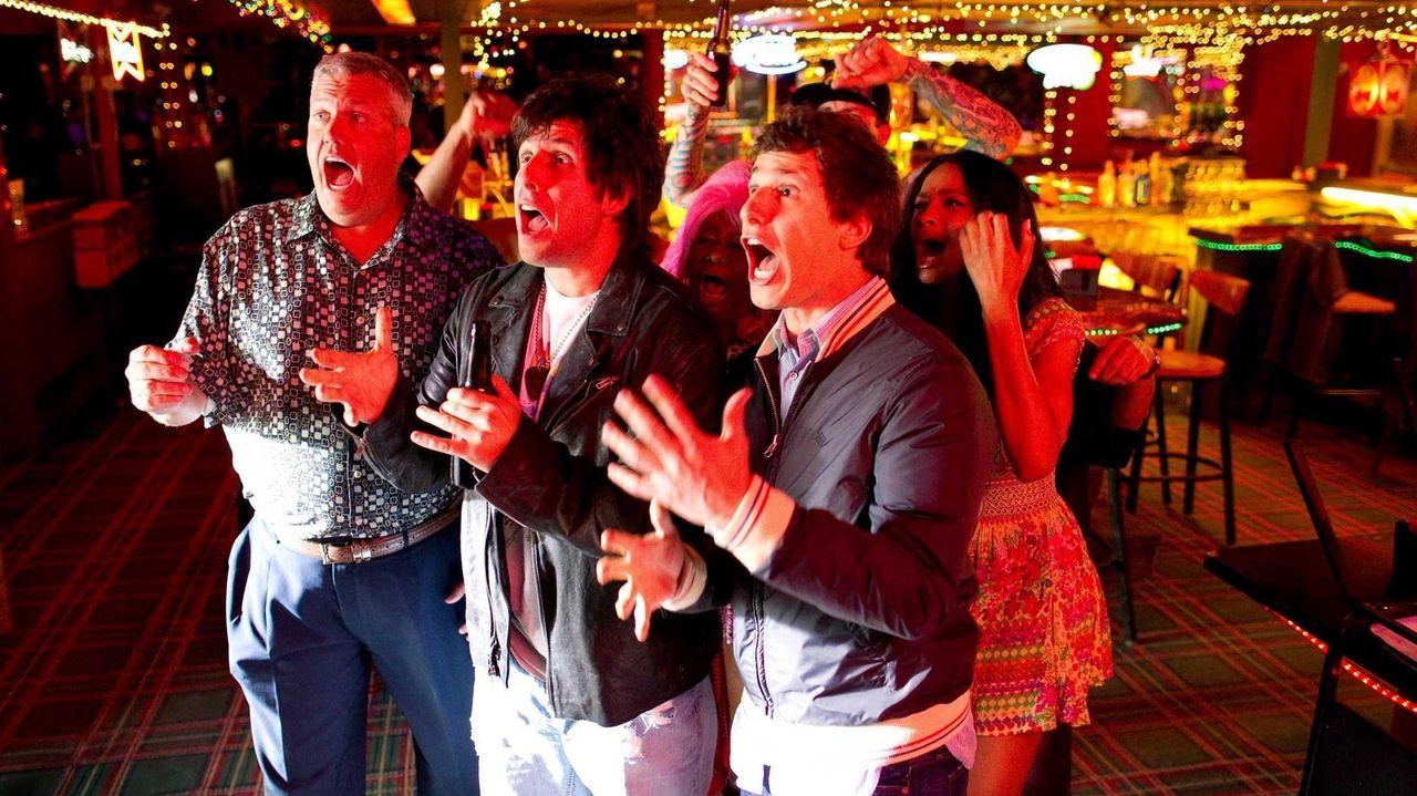 Craig (Rex Ryan), Donny (Adam Sandler), Todd (Andy