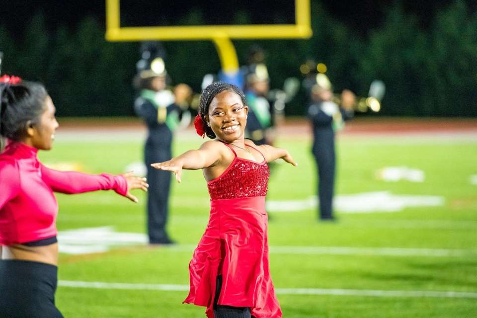 Photos from Elmont Memorial High School's performance at