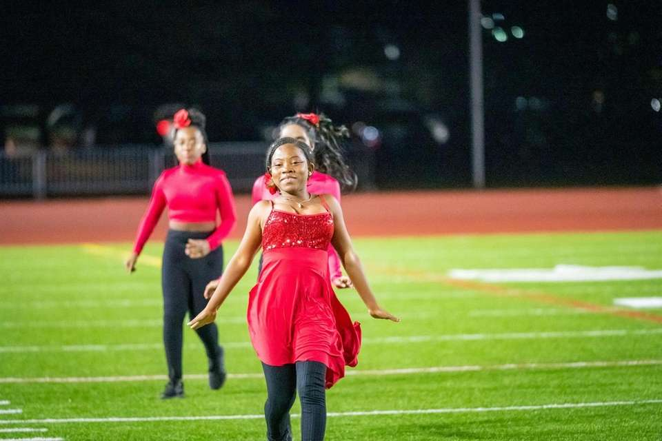 Photos from the Three Village Patriot Marching Band's