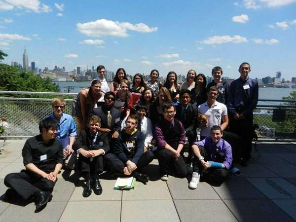Bethpage High students competed in a 2012 Kids