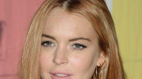 Lindsay Lohan attends the Domingo Zapata