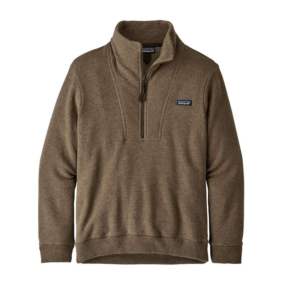 The classic Patagonia fleece pullover is ideal for