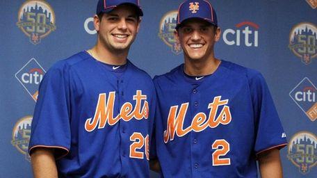 Mets 2012 first round draft picks Gavin Cecchini,