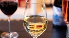 Wine tasting meets art appreciation at the Patchogue