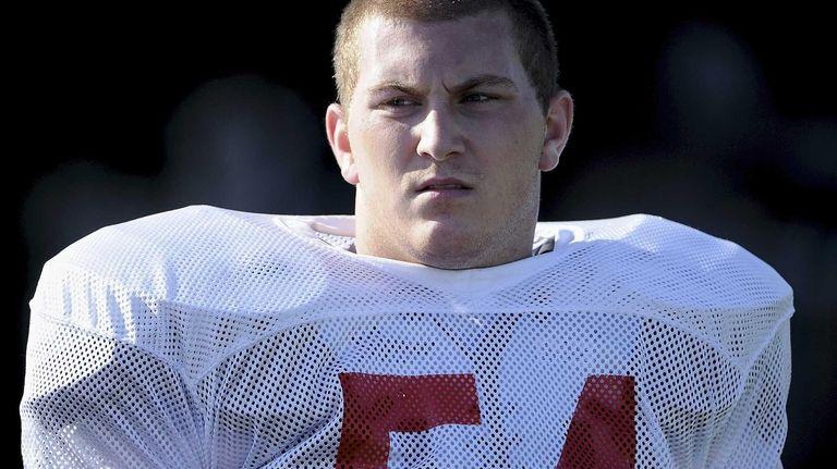 Team Long Island linebacker Evan Kappatos (Syosset) is