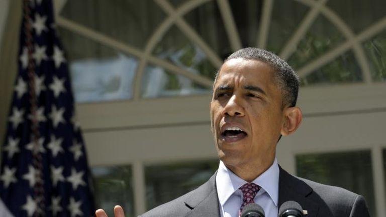 President Barack Obama at the White House (June